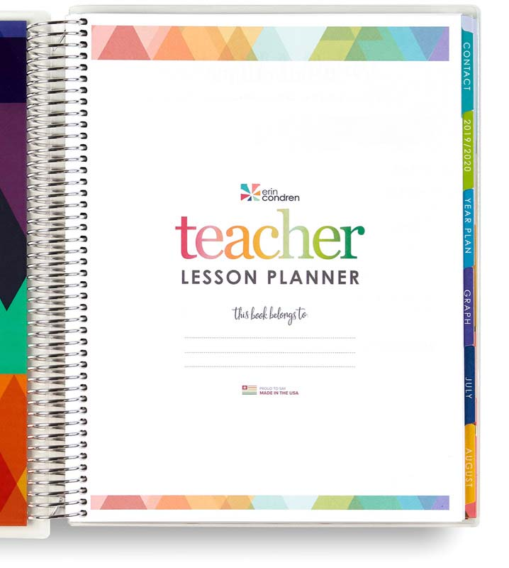 picture relating to Teachers Plan Book Printable named Trainer Planners Master Extra Lesson Application Textbooks Erin Condren