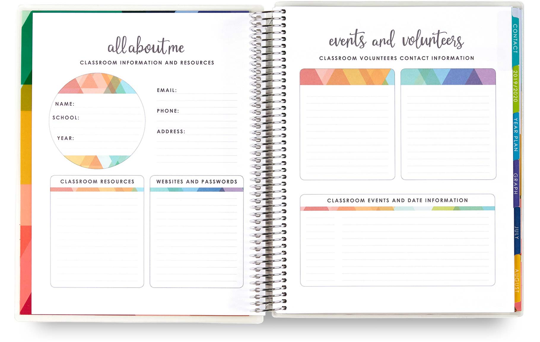 Teacher Planners Learn More | Lesson Plan Books | Erin Condren